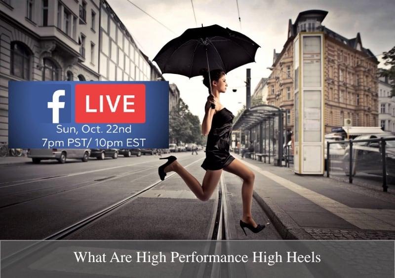 Stiletto Charm Facebook Live Event