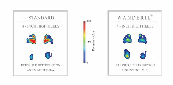 WANDERIL Pressure Distribution Assessment Results