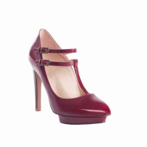 Red Patent Lucy Roccamore