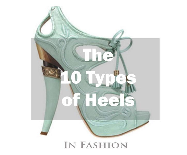 10 Types of Heels
