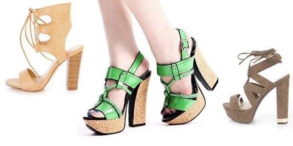 Chunky Heels