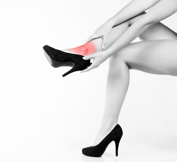 Heel Shock Absorption Needed for Heel Pain