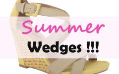 Summer Wedges 2016