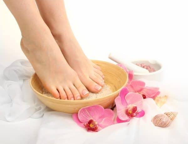 Foot Salt Bath