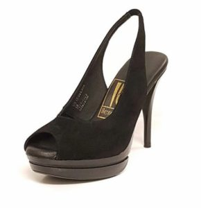 IB Stacey Black Suede