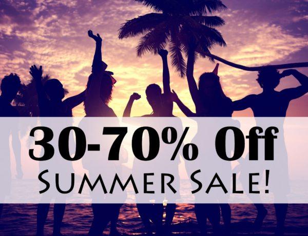 30-70% Off Summer Sale