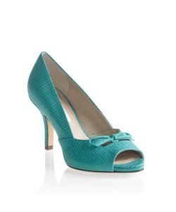 Gracie Teal Pump Julie Lopez Shoes