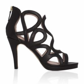 Sargossa Redefined Black Sandal Side