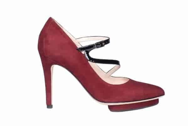 Red Serafina Pump by Roccamore
