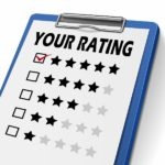 1 to 5 Stars Rating Sheet