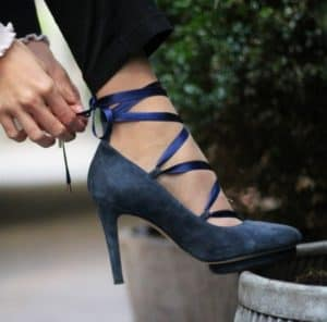 Roccamore Blue Louise Pump