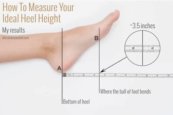 How to Measure Your Perfect Heel Height
