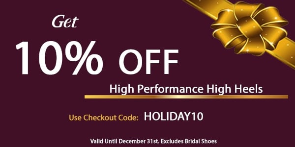 Stiletto Charm Holiday 10% Off