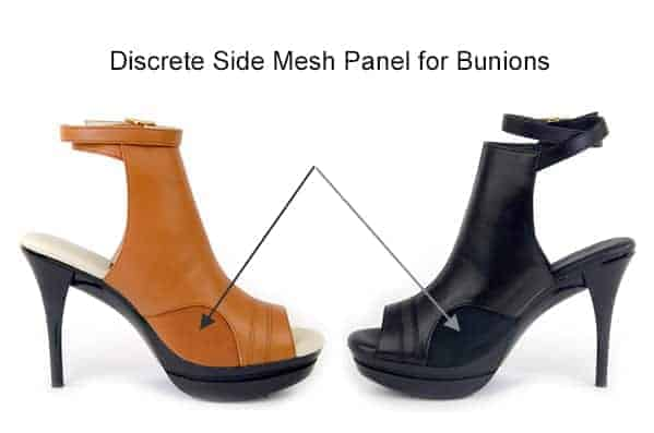 Samara Bootie Inside Mesh Panel for Bunions