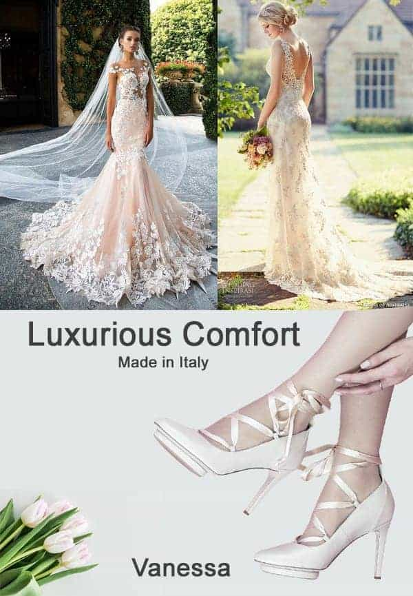 Roccamore Vanessa Bridal Wedding Shoes
